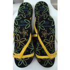 Scholl biomechanics yellow sandles,2 x pairs, Multi-buy,size 3(uk) size36(eu)