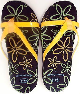 Scholl Pair size Yellow 3 uk36 Sandles Biomechanics eurOne O0kn8wPX