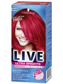 Schwarzkopf Live Semi Permanent Color Ultra Brights 92 Pillar Box Red
