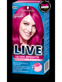 Schwarzkopf Live Semi Permanent Color Ultra Brights 93 Shocking PINK