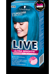 Schwarzkopf Live Semi Permanent Color Ultra Brights 96 Turquoise Temptation
