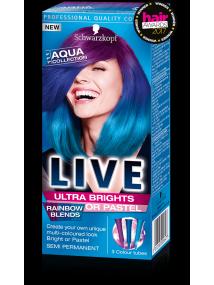 Schwarzkopf Live Semi Permanent Color Ultra Brights 111 AQUA COLLECTION