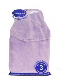 Coronation 2 Litre Hot Water Bottle with Faux Fur Cover Various Colours