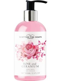 The Scottish Fine Soaps Company Rose & Geranium Hand Lotion 300ml