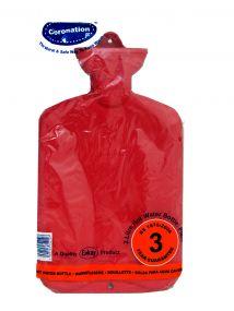 Coronation Plain Hot Water Bottle 1.5 Litre