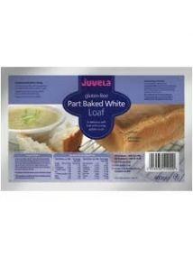Juvela Gluten-free Part-baked Loaf white 400g