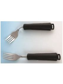 bendable fork with soft cushion grip