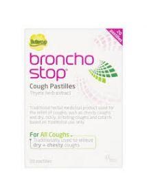 Bronchostop cough pastilles pack of 20