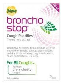 Bronchostop cough pastilles pack of 10