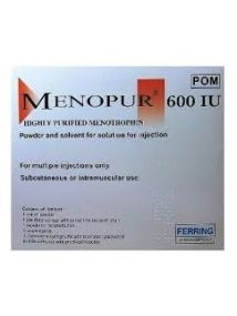 Menopur powder for injection and solvent multidose 600iu