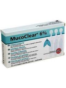 Mucoclear 6% 4ml Pack of 20