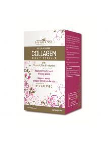 Natures Aid Collagen Beauty Formula for Skin, Hair, Nails   90 Capsules