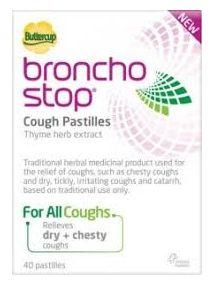 Bronchostop cough pastilles pack of 40