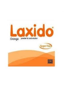 Laxido sachets, pack of 20, orange flavour for constipation(sugar free)