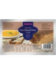 Juvela Gluten-free Part-baked Loaf Fibre 400g