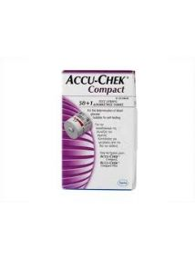Accu-Chek Compact Test Strips, pack of 51