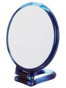 Danielle Hand Held Swirl Blue Mirror Style No. D1067DB