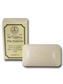 Taylor of Old Bond Street Gentleman's Sandalwood Pure Vegetable Soap 200g