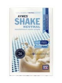 Aymes Powdered shake sachets neutral 7X57g