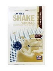 Aymes Powdered shake sachets vanilla 7X57g