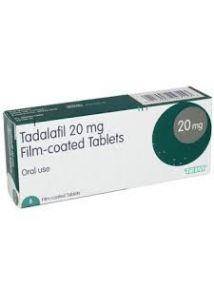 Tadalafil 20mg tablets pack of 4
