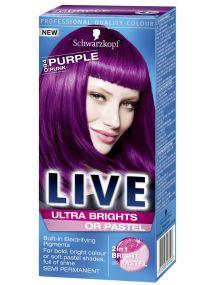 Schwarzkopf Live Semi Permanent Color Ultra Brights 94 PURPLE PUNK