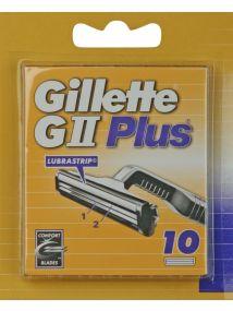 Gillette G11 Plus Razor Blades 10