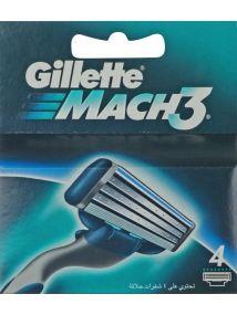 Gillette Blades Mach3 x 4
