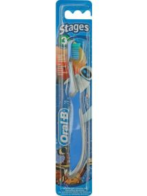 Oral B Toothbrush Stage 3 Plus Tongue Cleaner 5-7yrs