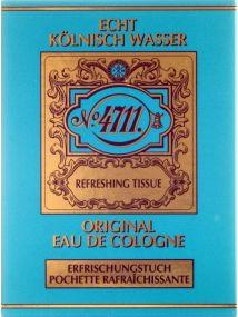 4711 Original Eau de Cologne Tissue Pack x10