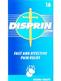 Disprin 300mg 16 Soluble Tablets