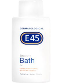 E45 Emollient Bath & Bodycare Oil 500ml