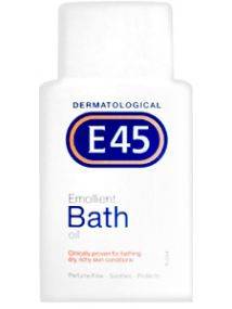 E45 Emollient Bath & Bodycare Oil 250ml
