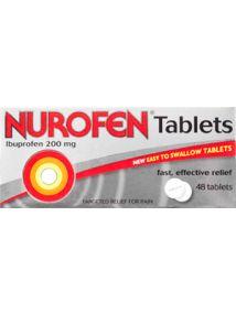 Nurofen Tablets 200mg 48 Pack