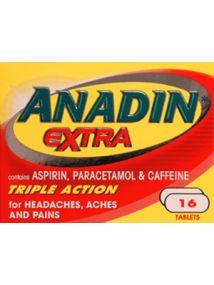 Anadin Extra 16 Caplets