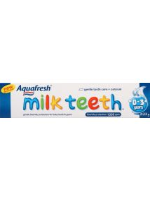 Aquafresh Milk Teeth Fluoride Toothpaste 0-2 years 50ml