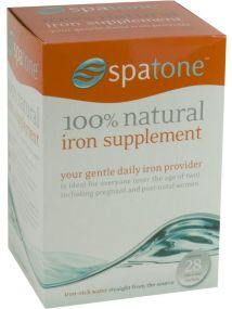 Spatone 100% Natural Iron Supplement 28 Daily Sachets