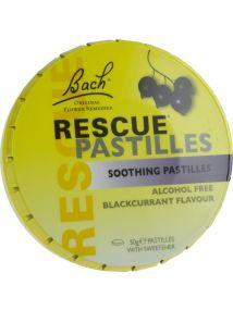 Bach Rescue Pastilles Blackcurrant Flavour 50g