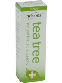 Nelsons Tea Tree Natural first Aid Antiseptic Cream 30g