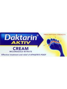 Daktarin Aktiv Cream For Athlete's Foot 15g