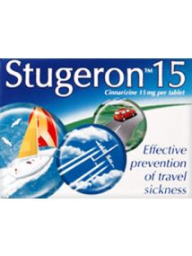 Stugeron 15 Effective Tablets for Travel Sickness
