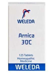 Weleda Arnica 30C (125 Tablets)