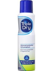 Triple Dry Advanced Protection Anti-Perspirant Spray 72 Hrs 150ml