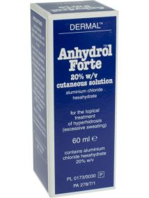 Anhydrol Forte Roll-0n Antiperspirant. For Excessive Sweating