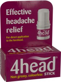 4head Natural Headache Treatment 3.6g
