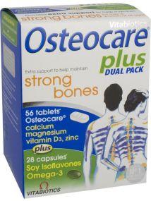 Vitabiotics Osteocare Plus 2 in1 Dual Pack for Strong Bones 84Tabs/Caps