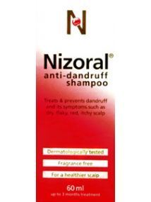 Nizoral Anti-Dandruff Shampoo - 60ml