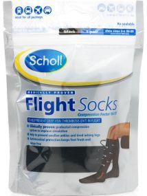 Scholl Flight Socks Small