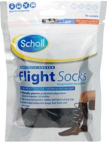 Scholl Flight Socks Medium