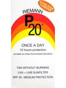 Riemann P20 Once a Day Sunfilter SPF20 Ten Hours Protection 200ml